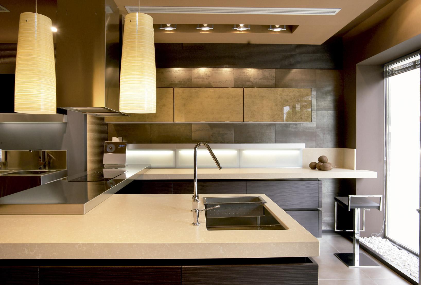 Cocinas puertas armarios y vestidores - Silestone showroom ...